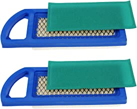 Air Filter for Briggs Stratton 698083 697153 797008 697015 Pre Filter 697634 795115 Stens 102-875 Oregon 30-122 Craftsman 33425, Pack of 2