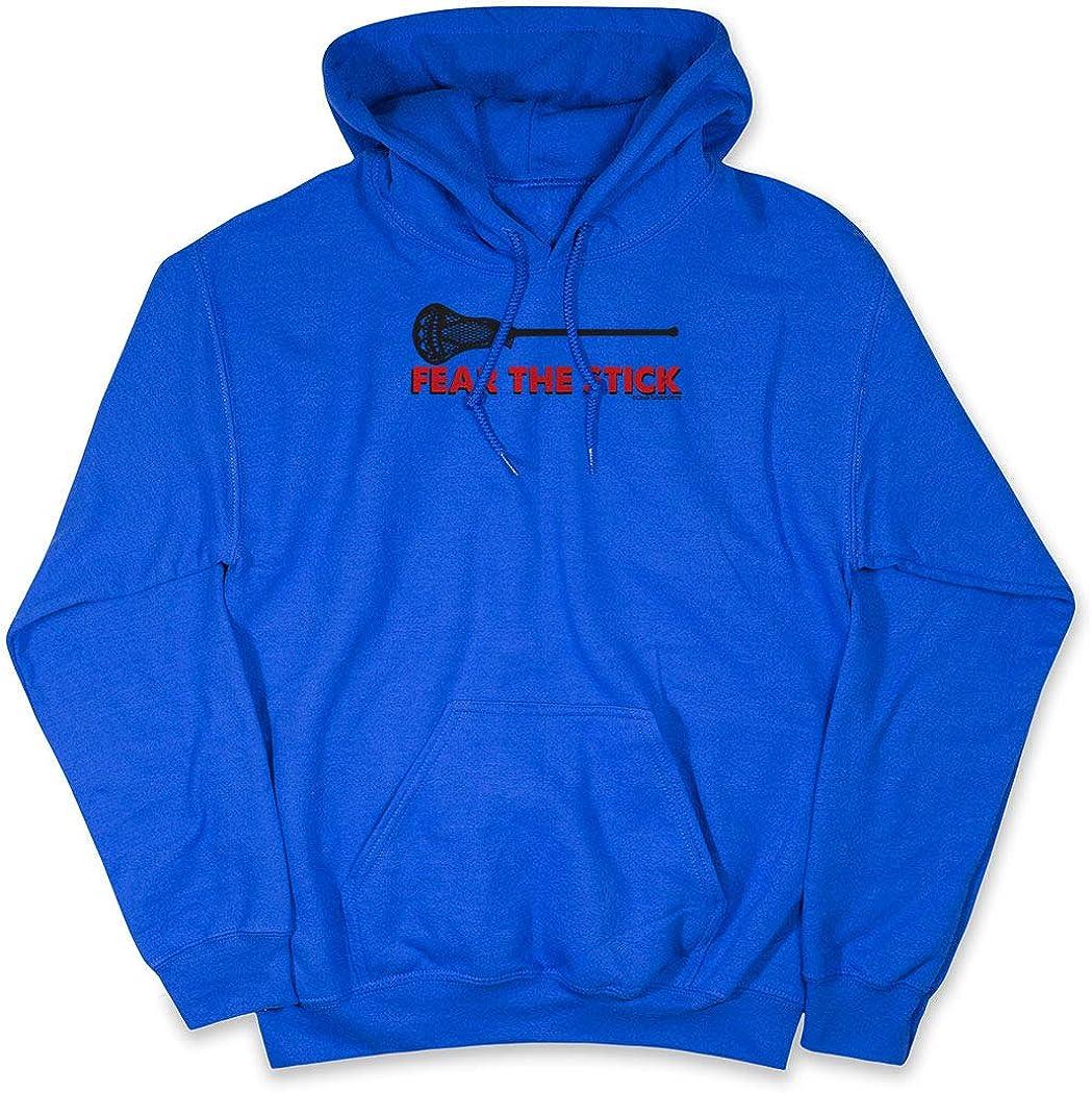 Guys Lacrosse Standard Sweatshirt | Fear The Stick Lacrosse Yout