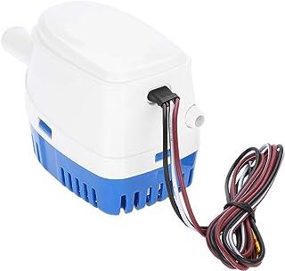 Buyfunny01 Pompa di sentina portatile per barca RV e barca a piedi WC design smussato accessori per yacht lavabo autocete risparmio energetico facile installazione piccola