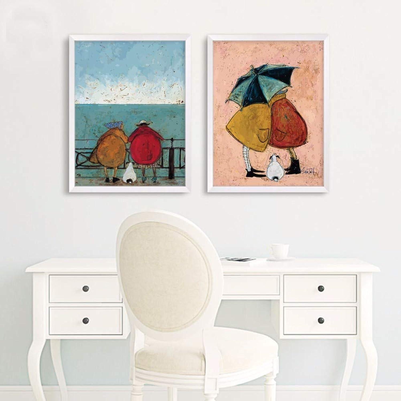 ofrecemos varias marcas famosas Qiumeixia1 - Lienzo de de de estilo nórdico sin marco, pósteres vintage e impresión moderna para decoración de parojo, imágenes para sala de estar, recámara, comedor  venta