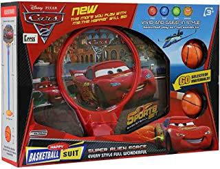 Cars 2 Basketball Suit Play Set For Kids
