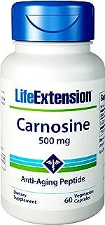 Life Extension Carnosine 500 mg 60 Vegetarian Capsules