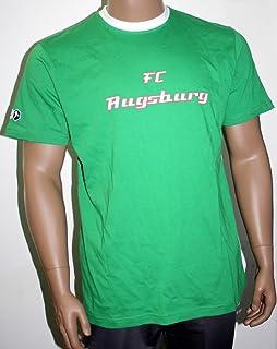 3XL Fussball Lorbeerkranz Gr/ö/ße S Fan T-Shirt Augsburg shirtloge