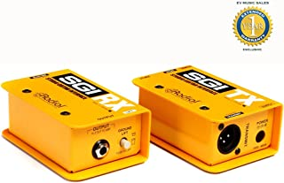 Radial Engineering SGI Studio Guitar Interface System with 1 Year Free Extended Warranty