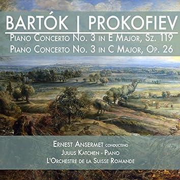 Bartók: Piano Concerto No. 3 in E Major, Sz. 119 & Prokofiev: Piano Concerto No. 3 in C Major, Op. 26