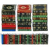 29 Pièces Livres Miniatures de Maison de Poupée à l'Échelle 1:12 Assortiment Livres de Miniatures Intemporelles Mini Livres Modèle Maison de Poupée Jouet à Faire Semblant (Motif Classique)