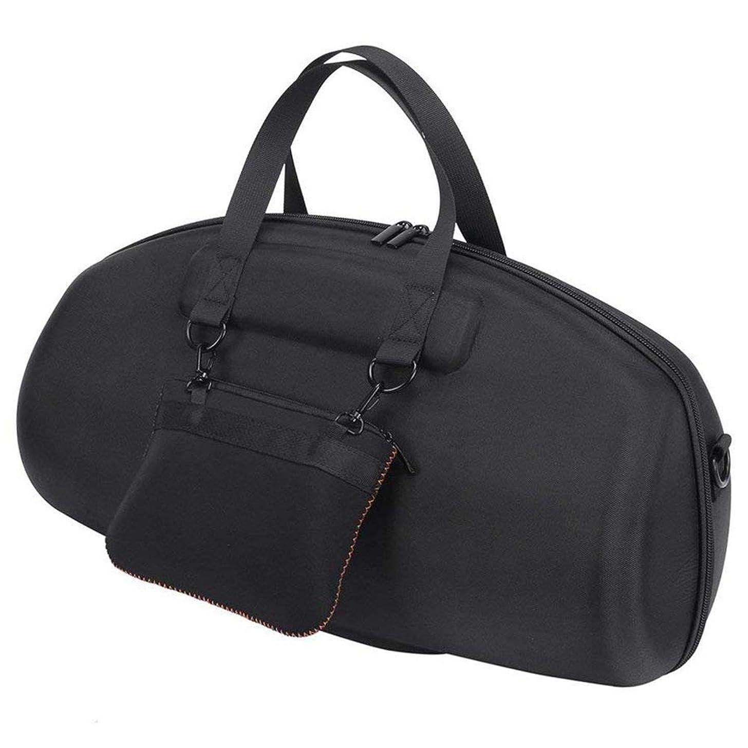 Semoic for JBL Boombox Portable Bluetooth Waterproof Speaker Hard Case Carry Bag Protective Box (Black)