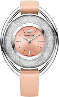 Swarovski Crystalline Watch For Women Analog Pink Leather, 5158546