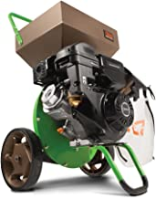 Tazz 22752 K33 Chipper Shredder – 301cc 4-Cycle Viper Engine, 5 Year Warranty