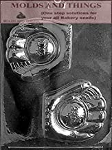 BASEBALL GLOVE & BALL Chocolate Candy Mold With Molding Instruction - Set of 3