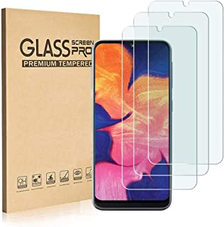 Ankoe for Samsung Galaxy A10e Screen Protector, [3 Pack] Tempered Glass, HD Clear, Case Friendly, Anti- Scratch, 3D Touch Accuracy Anti-Bubble Screen Protector Glass for Samsung Galaxy A10e