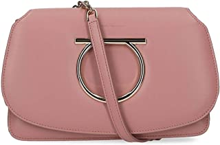 Luxury Fashion | Salvatore Ferragamo Womens 693423 Pink Shoulder Bag | Fall Winter 19