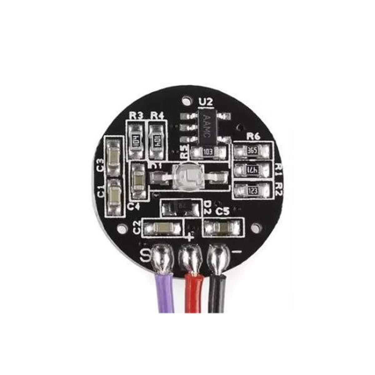 DEVMO Pulse Sensor Heart Rate Sensor Monitor PulseSensor for Arduino Module Raspberry