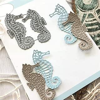 Troqueles de corte de metal de la serie Ocean 2019 para hacer tarjetas manualidades troqueles de corte Estados Unidos /álbumes de recortes repujado elemento de caballito de mar