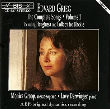 Grieg, E.: Songs (Complete), Vol. 1