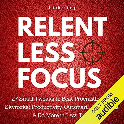 Relentless Focus cover art