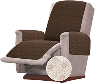 Rose Home Fashion RHF Anti-Slip Oversized Recliner Cover for Leather Sofa & Oversized Recliner Covers, Slipcovers for Recl...