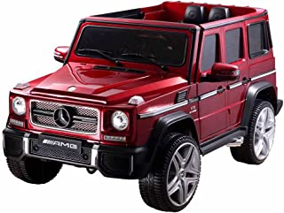 Best Ride on Car Mercedes G65 12V Ride on Car, Red