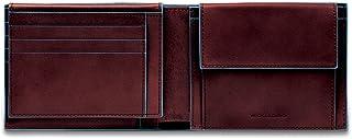 Piquadro Blue Square Portamonete con 7 Alloggiamenti per Carte di Credito, 12 cm, 0.43 litri, Mogano