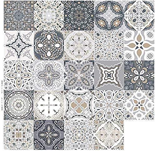 DOY 30 X Pegatinas de Azulejos Mosaico Adhesivo Azulejos Azulejos Autoadhesivo Decorativo Cocina Baño 20 x 20 cm