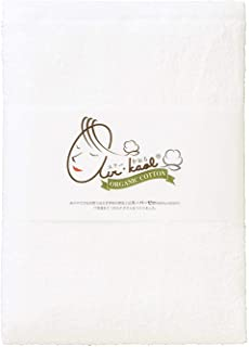 浅野撚糸 バスタオル スノーホワイト 約60×120cm エアーかおる ダディボーイ 今治産