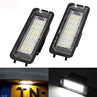 Paision Error Free LED Number License Plate Lights Tag Lamp for Vw Passat Polo Golf4/