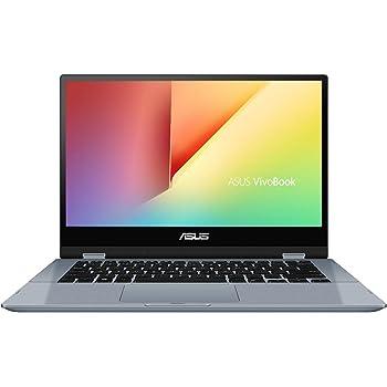 """ASUS VivoBook Flip 14 TP412FA-EC381T - Portátil convertible de 14"""" FullHD (Intel Core i3-10110U, 8GB RAM, 256GB SSD, Windows 10 Home) Azul Galaxia - Teclado QWERTY español"""