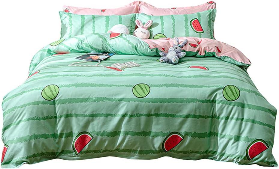 Sookie Kids Nashville-Davidson Mall Bedding Set 3 Watermelon security Comforter Reversible Pieces