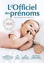 L'officiel des prénoms 2020 (French Edition)