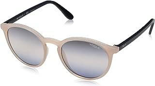 VOGUE Women's 0vo5215s Round Sunglasses, Opal Light Rose, 51.0 mm
