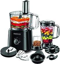 Black+Decker Food Processor with Chopper, Blender, Grinder, Citrus Juicer & Dough Maker, 750W, 34 Functions, 5 in 1, Black...