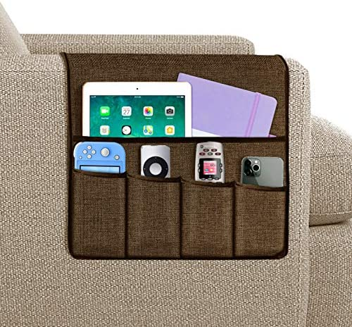 Joywell Armchair Caddy Remote Control Holder for Recliner Couch Sofa Armrest Organizer with product image