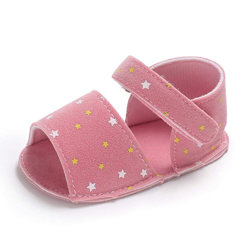 [topmodelss] ベビーサンダル 女の子 シューズ 学?靴 水玉柄 子供靴 赤ちゃん用 幼児用 滑り止め 履き心地いい お出かけ 散?