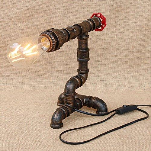 Lampe industrielle de tuyau de fer de vent