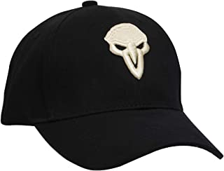Overwatch DVA/Ashe/Reaper Baseball Hat Embroidery Cap Cosplay Accessory Game Hero Anime Hat for Women Men Teenagers