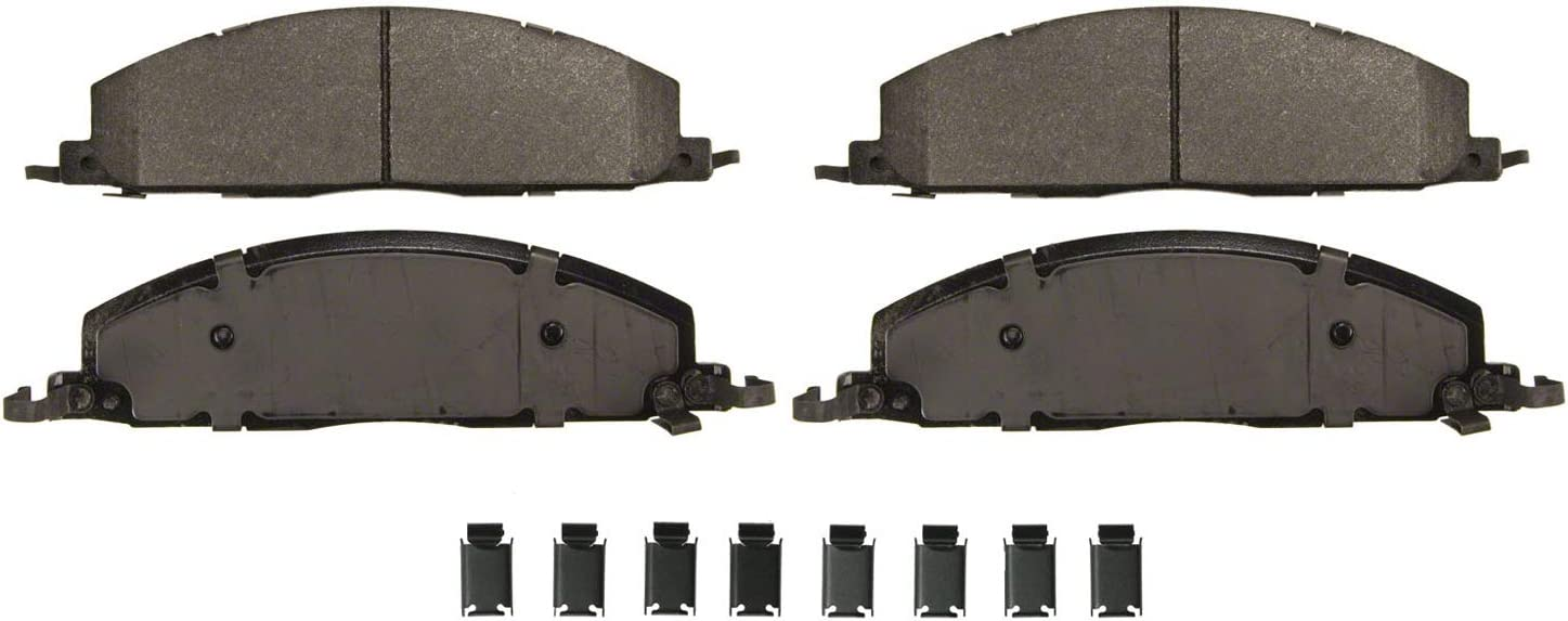 Wagner Max 50% OFF SevereDuty SX1400 Memphis Mall Semi-Metallic Brake Pad Set Disc