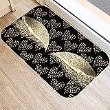 OPLJ Alfombrilla de Cocina con patrón de impresión de pestañas, Alfombrilla de Puerta de Entrada para decoración del hogar, Alfombra Absorbente Antideslizante para baño A14 50x80cm
