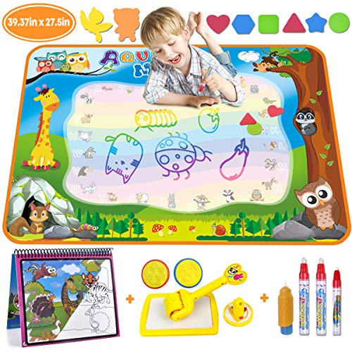Große Kinder Magic Doodle Malmatte Matte wie Aqua Doodle Malen mit Wasser 86x57