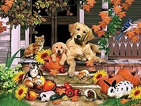 SUNSOUT INC Autumn on The Porch 300 pc Jigsaw Puzzle