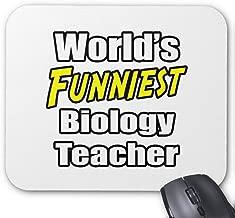 BGLKCS World's Funniest Biology Teacher Mouse Pad