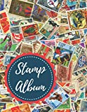 Stamp Album: Professional Stamp Collecting Album for Stamp Collectors, Stamp Collection Catalog Journal, Organize & Catalog Stamps,Tracking & ... stamps(Philately Stamp Collectors Log Book)
