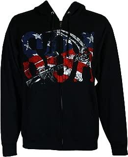 American Flag Full Zip Hoodie Sweatshirt