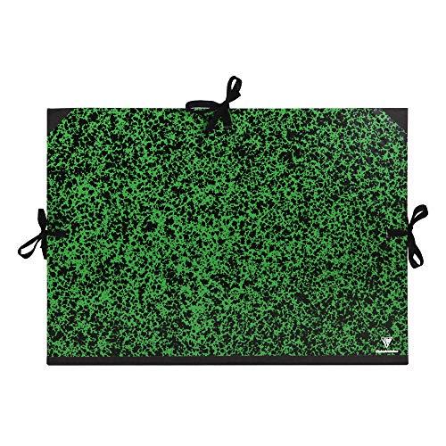 Clairefontaine 32600C - Cartella Portadisegno, A2+, Verde, 47x62 cm