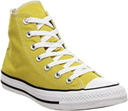 converse plataforma amarillas altas