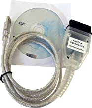 Interface USB OBD2 for BMW - INPA/Ediabas - K+DCAN allows full diagnostic of BMW from 1995 to 1998 (don't need K-line).