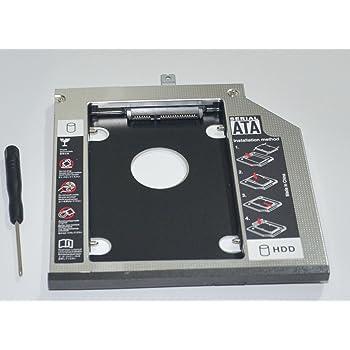 Nimitz 2nd HDD SSD Hard Drive Caddy for Lenovo Thinkpad E570c E570 E575 with Faceplate//Bracket