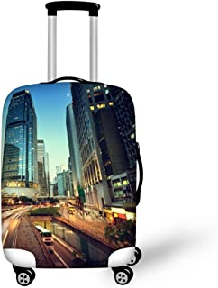 HUGS IDEA 18-30 Inch Retro Elastic Luggage Cover Prodector for Travel