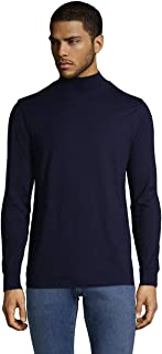 Lands' End Men's Super-T Mock Turtleneck