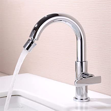 ETERNAL QUALITY Bathroom Sink Basin Tap Brass Mixer Tap Washroom Mixer Faucet To redate the full copper single hole basin single cold water tap washbasin brass bathroom s