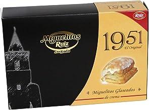 Miguelitos 1951 Glaseados Crema Bandeja de 6 unidades 300 g